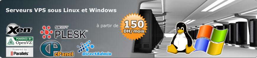 serveurs virtuels VPS maroc